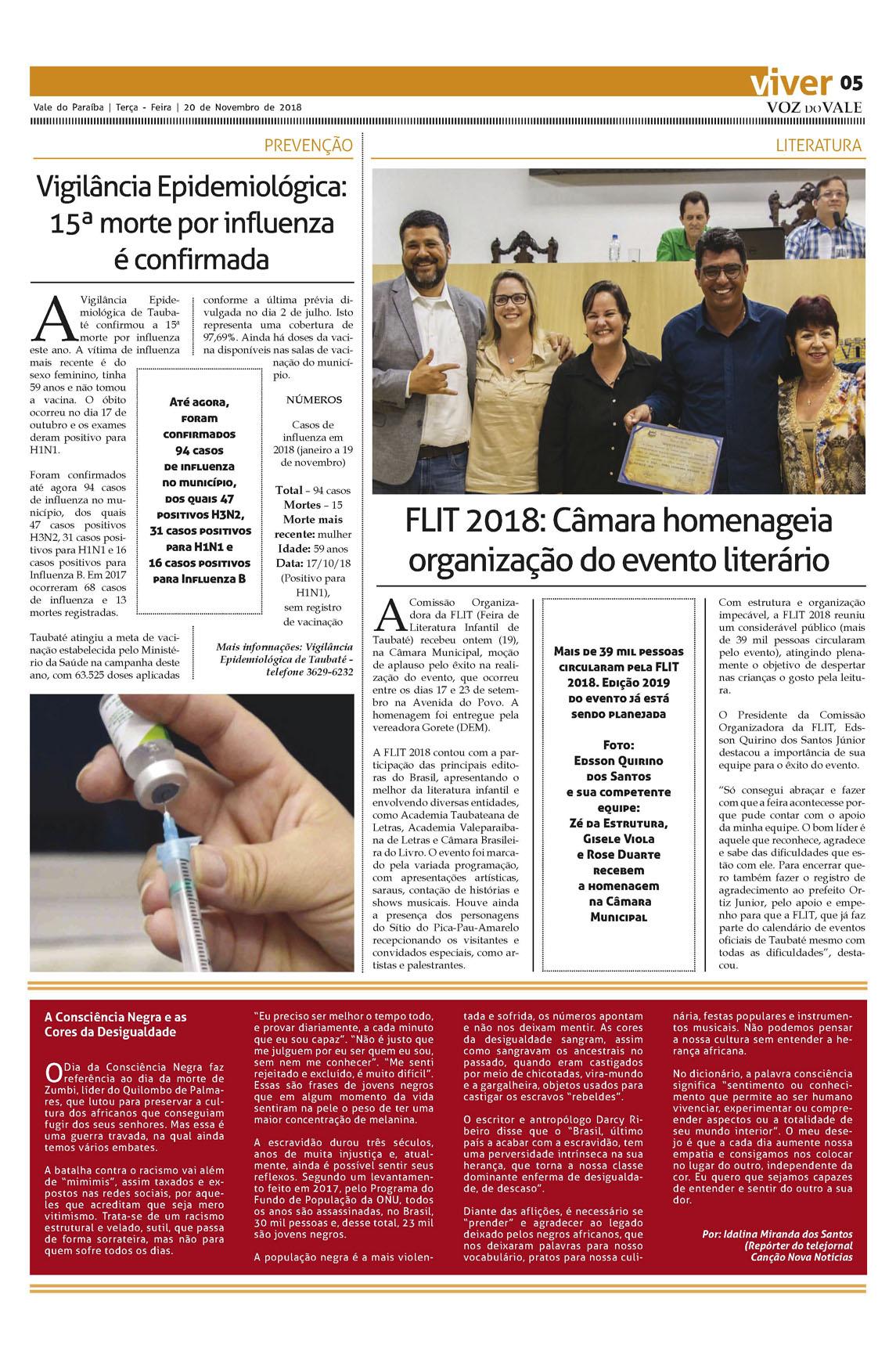 Edição De 20 De Novembro De 2018 Voz Do Vale Online